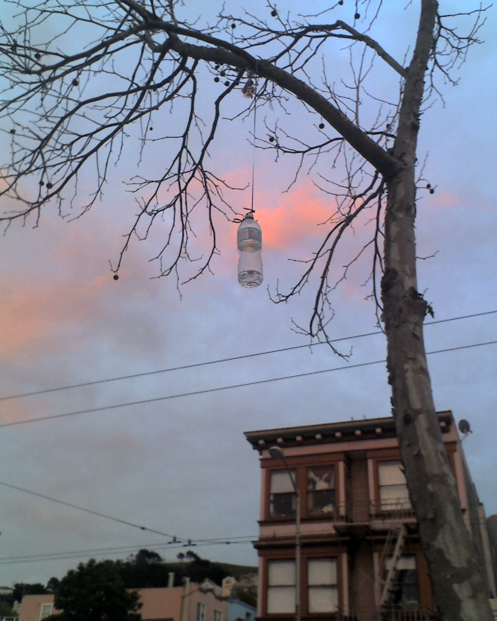 hanged-water-bottle