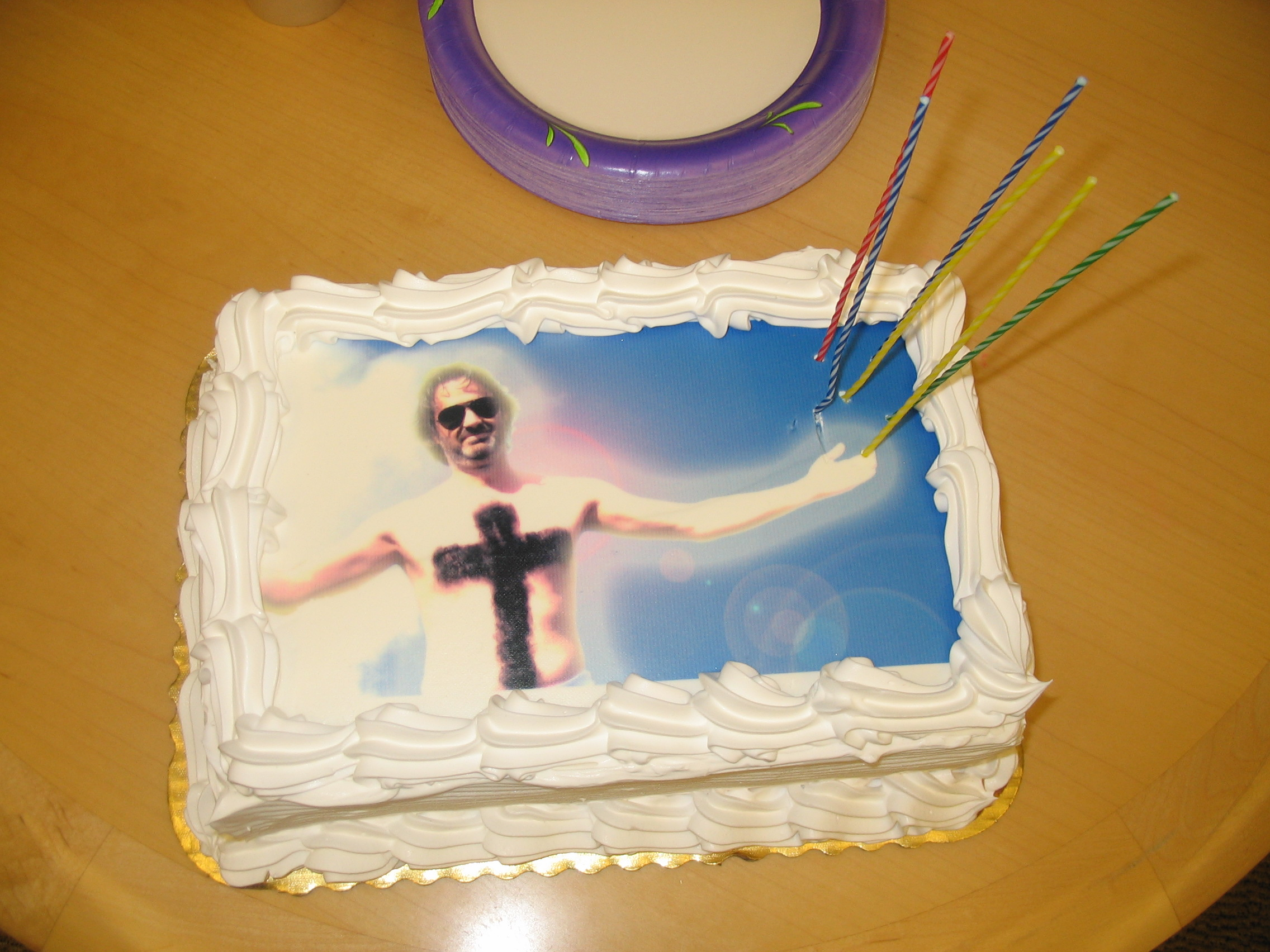 Guido Jesus On A Birthday Cake Mission Mission