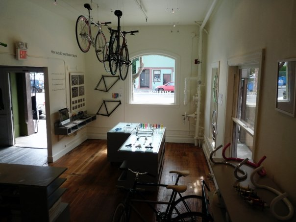 "The new Valencia St. bike shop: ""Mission Bicycle"""