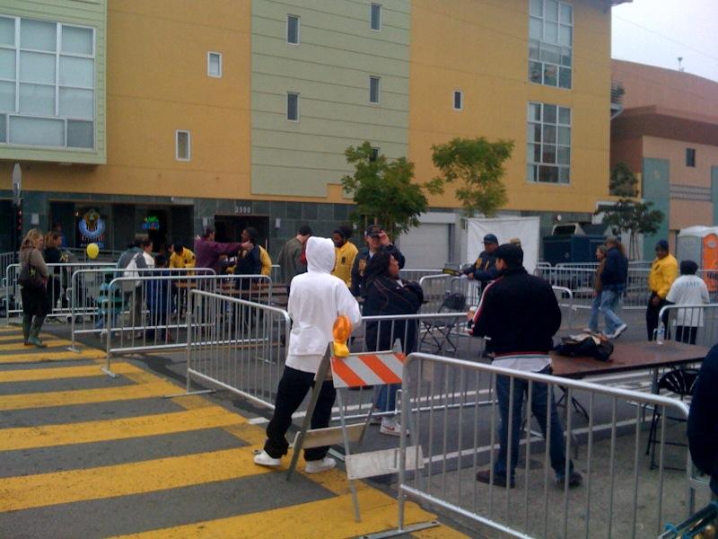 Police Presence at Carnaval 2009