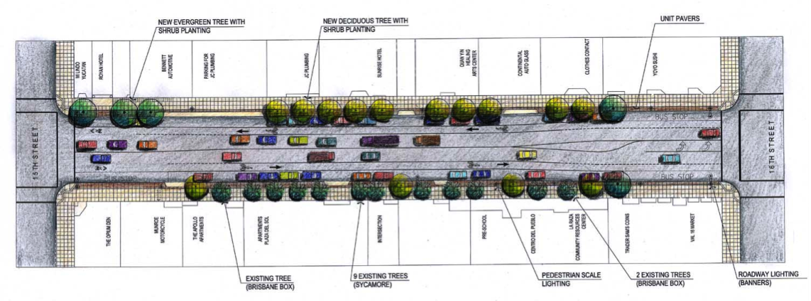 The plan for Valencia between 15th and 16th (click to enlarge)