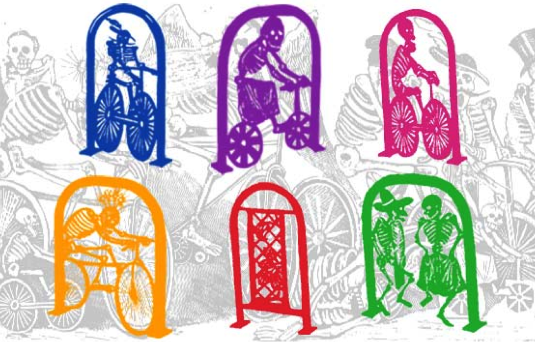 They are also proposing to transform the bike racks into piece of art.  Here were some concepts.  Badass. (click to enlarge)