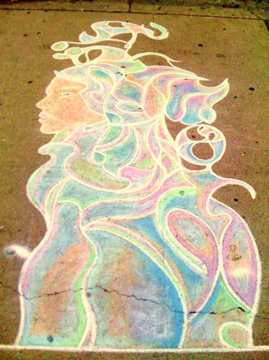 wade chalk art