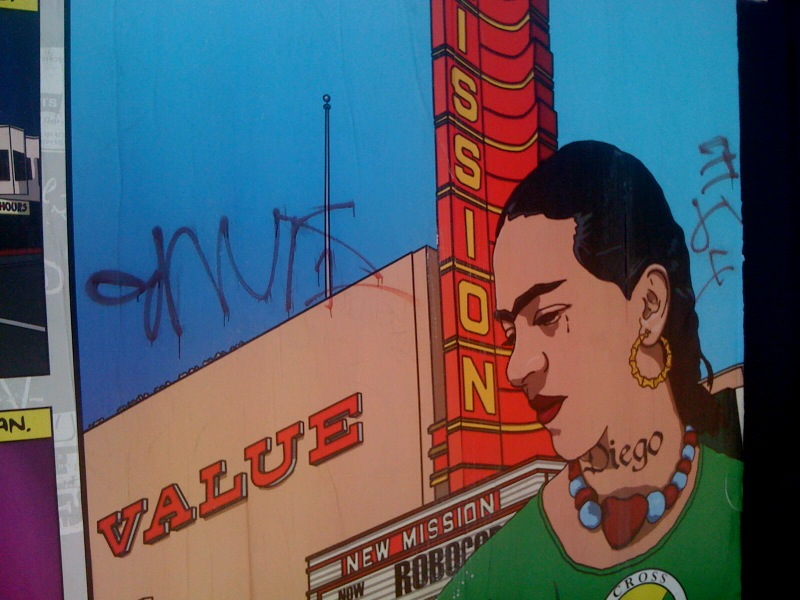 ghetto frida graffiti