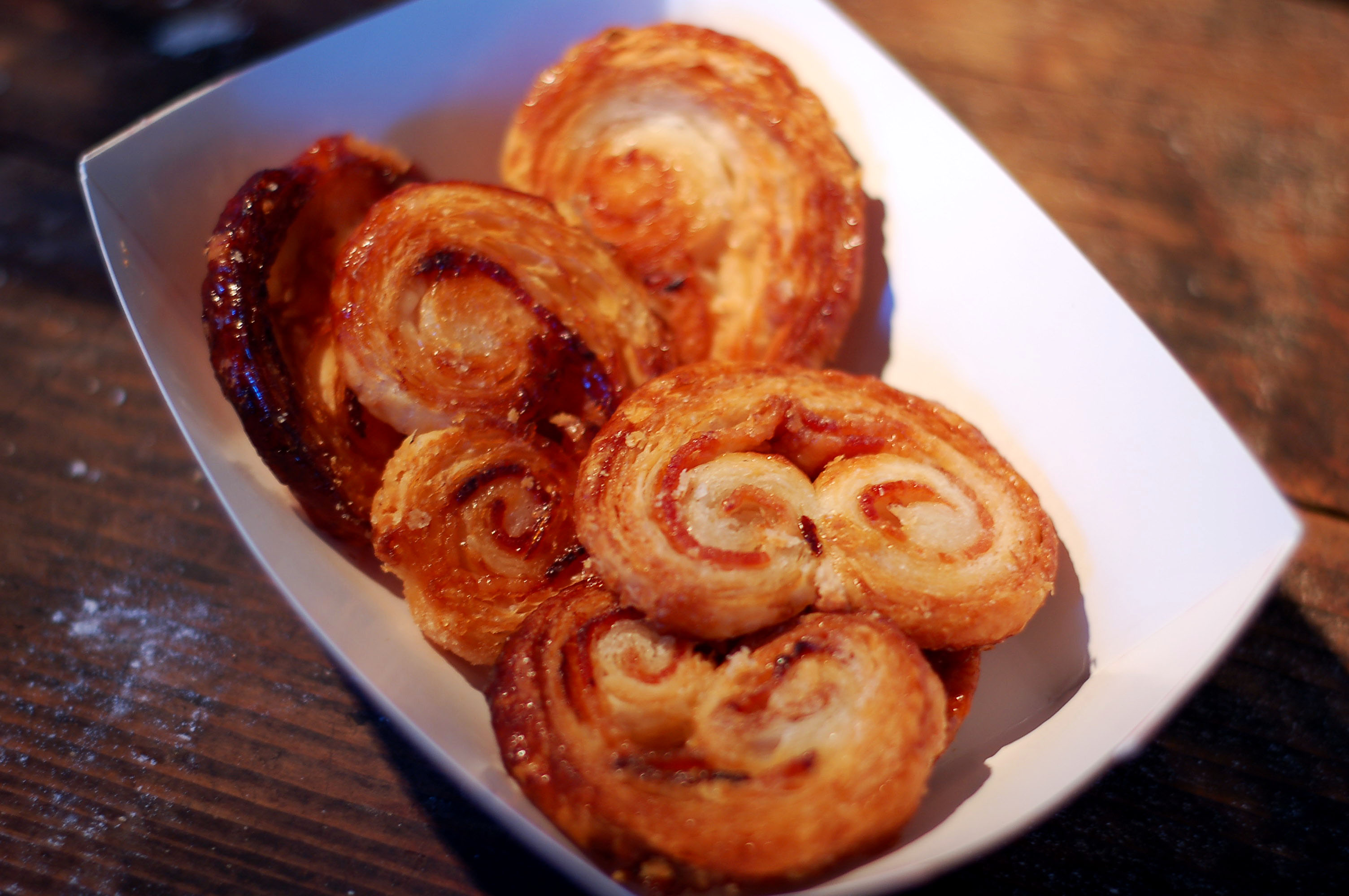 Holy cow, these bacon palmiers were amazing!