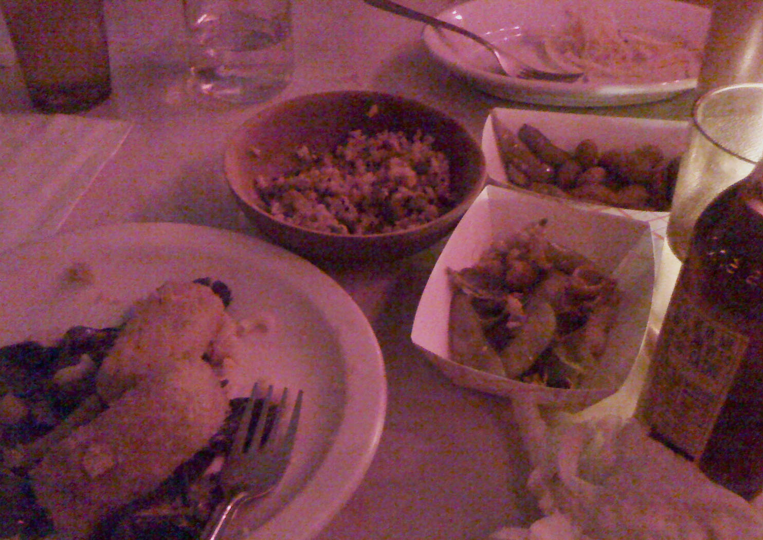 We demolished this fried mac & cheese, Japanese dirty rice, & Peanuts soaked in RC cola
