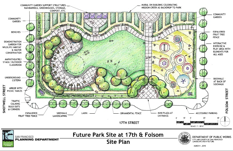 Breaking Proposed 17th And Folsom Park Will Be Green Mission