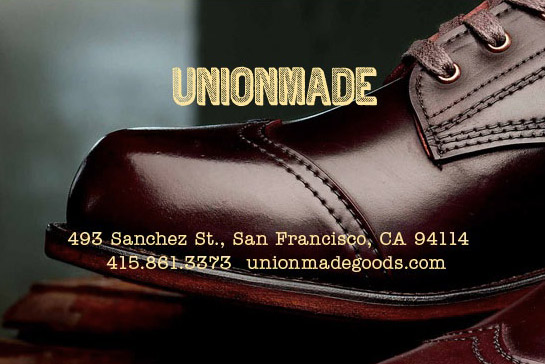 unionmade, wolverine, 1,000 mile boot, san francisco, mensware, fashion, workwear