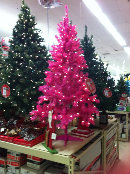 only 50 - Pink Christmas Trees