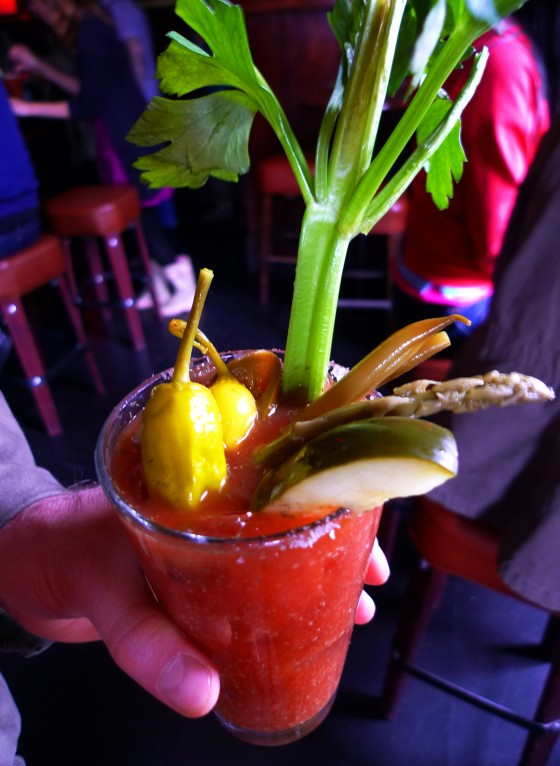 bloody mary, food, elixir, bar, bloody marython, food and drink, mission district, san francisco, cocktail