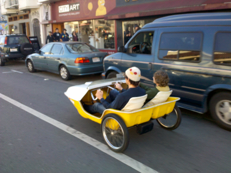 Pedal car mission mission for Is a bicycle considered a motor vehicle