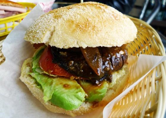 duc loi, banh mi, portabello sandwich, mission district, san francisco, duc loi kitchen