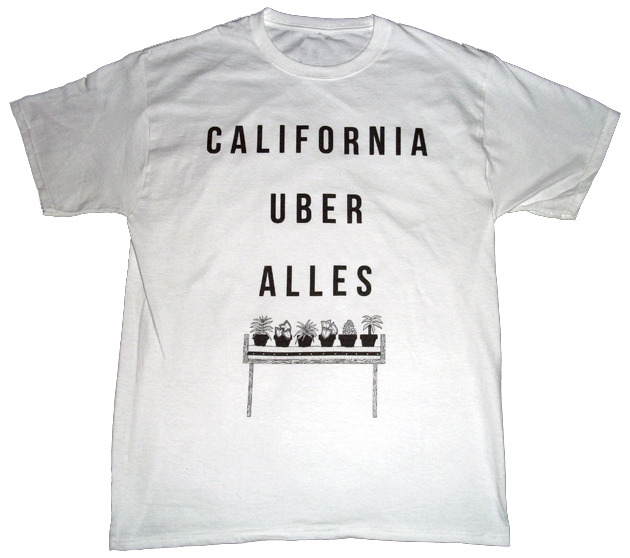 California uber alles t shirt mission mission for Get company shirts made