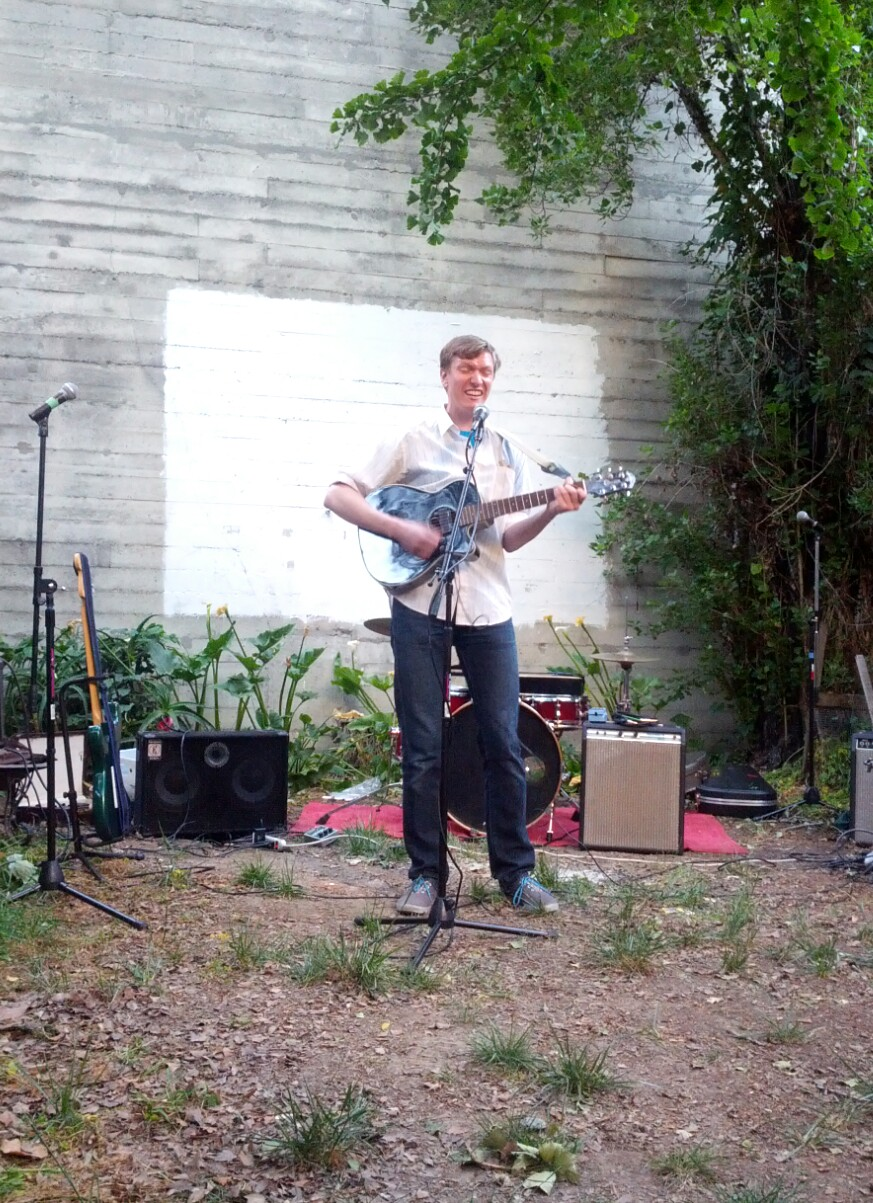 video from a really fun sunday evening backyard concert mission