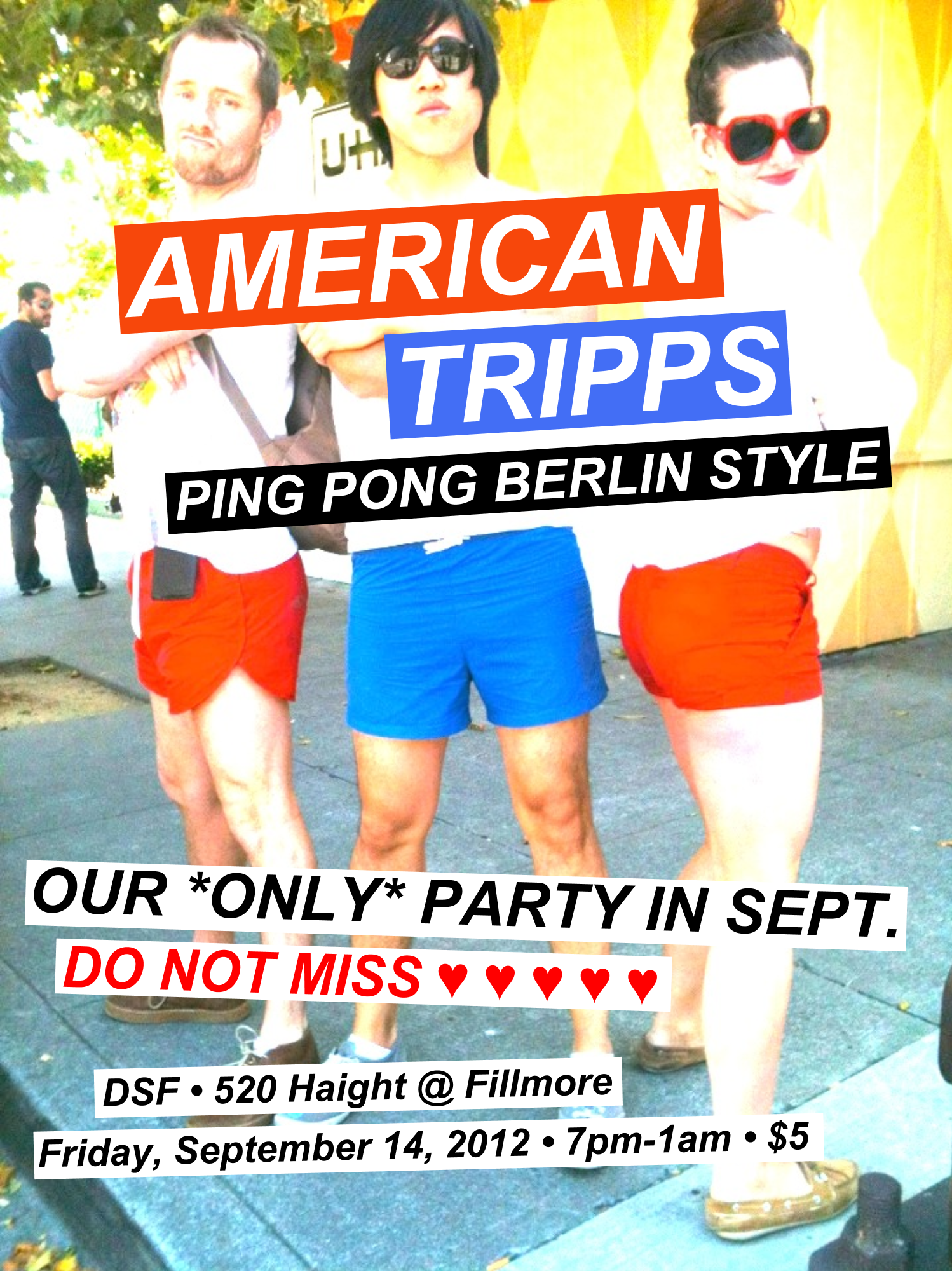 berlin style ping pong tonight in the lower haight mission mission. Black Bedroom Furniture Sets. Home Design Ideas