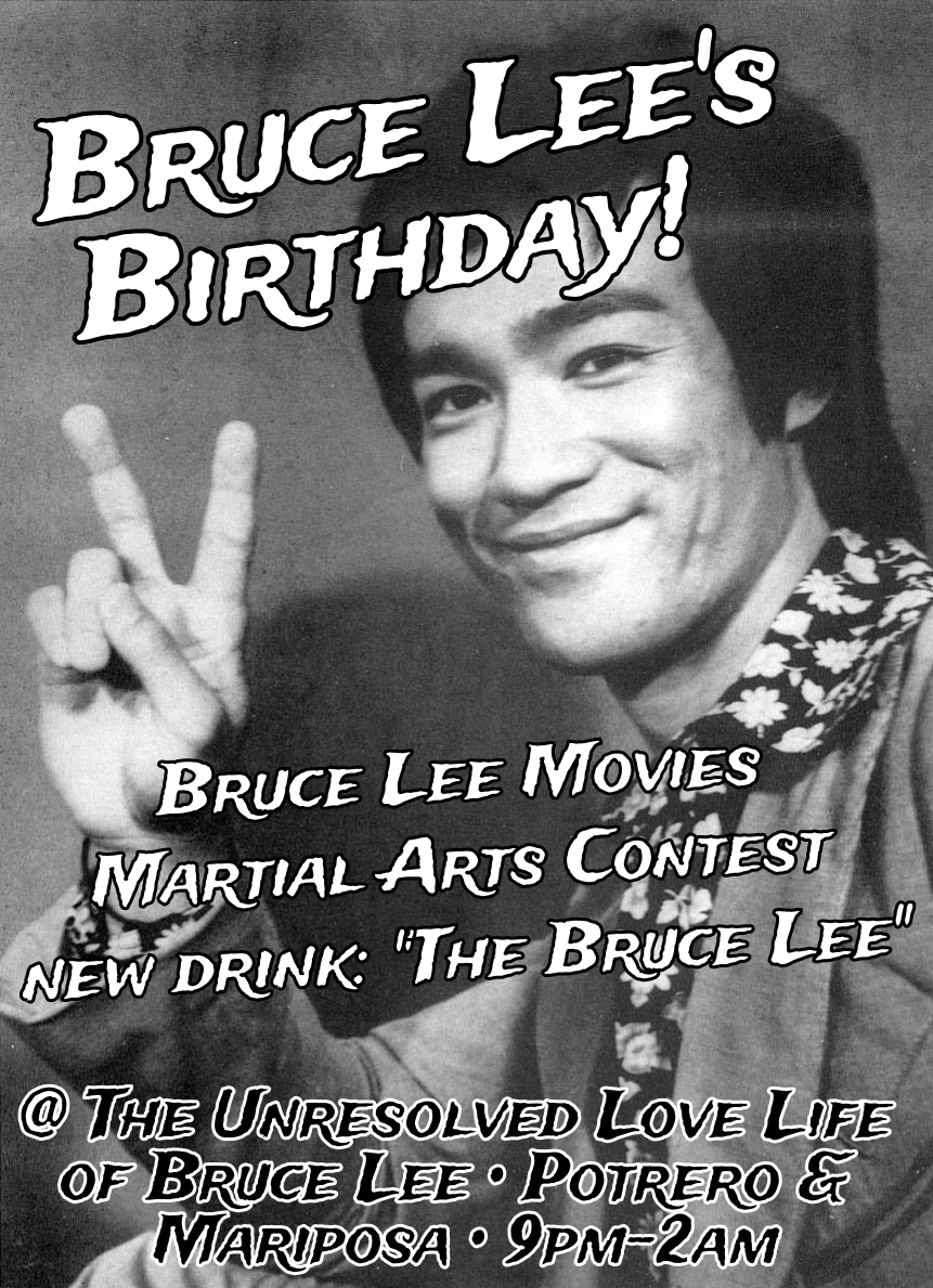 Bruce Lee Birthday