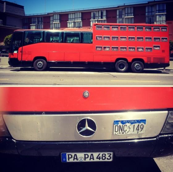 Crazy mercedes benz tour bus from alaska currently for Mercedes benz tour bus
